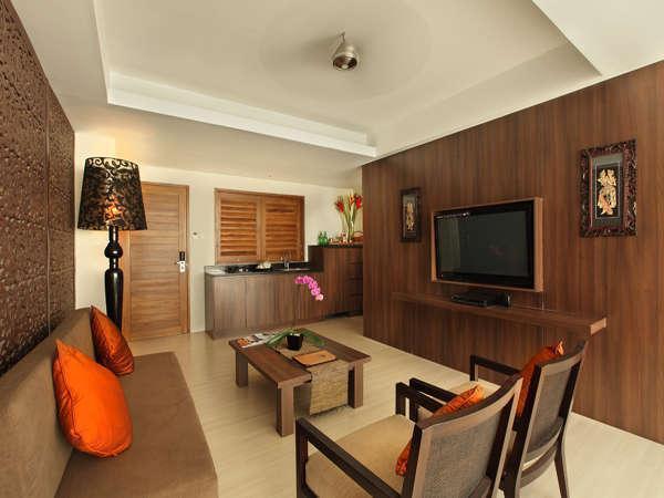 Villa Kayu Raja Bali - Ruang Tamu 1BRV