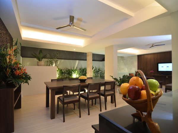 Villa Kayu Raja Bali - Ruang Makan 2BRV