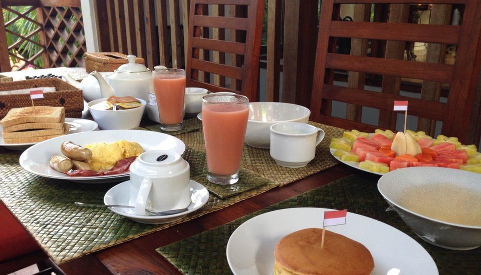 Villa Kampung Kecil Bali - Sarapan