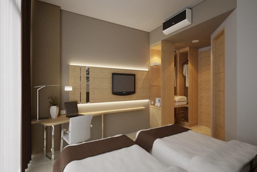 Pasar Baru Square Hotel Bandung - Deluxe Twin