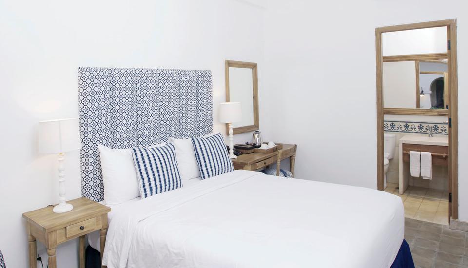 Adhisthana Hotel Yogyakarta - Deluxe Double Lantai Atas Tanpa Sarapan Regular Plan
