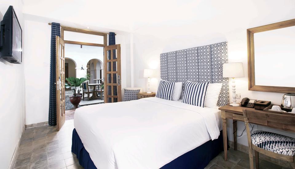 Adhisthana Hotel Yogyakarta - Deluxe Double Lantai Dasar Room Only Regular Plan