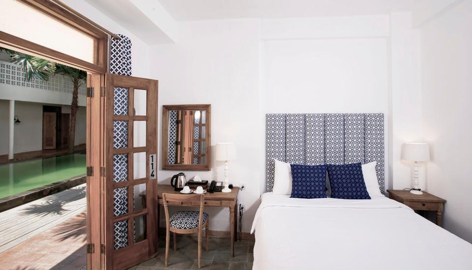 Adhisthana Hotel Yogyakarta - Superior Room Pool View Tanpa Sarapan Regular Plan