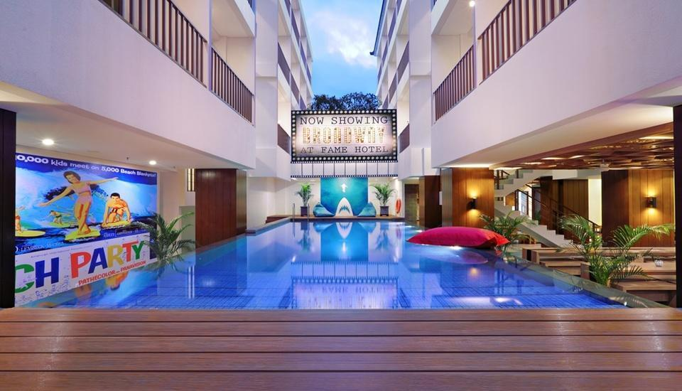 Fame Hotel Sunset Road Kuta Bali - Pool