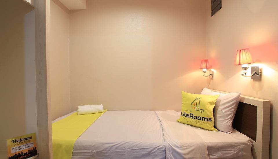 Lite Rooms Jakarta - TEMPAT TIDUR SINGLE