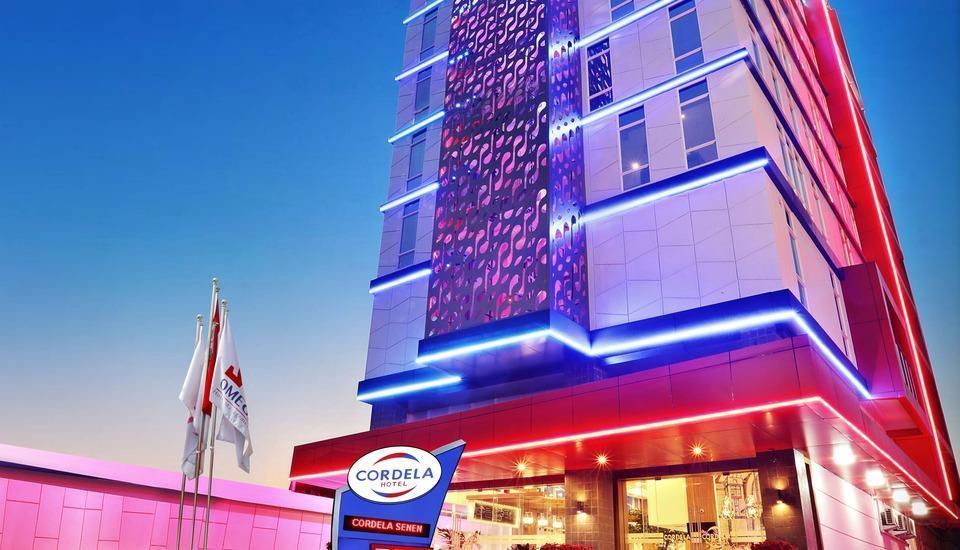 Cordela Hotel Senen - Eksterior bangunan