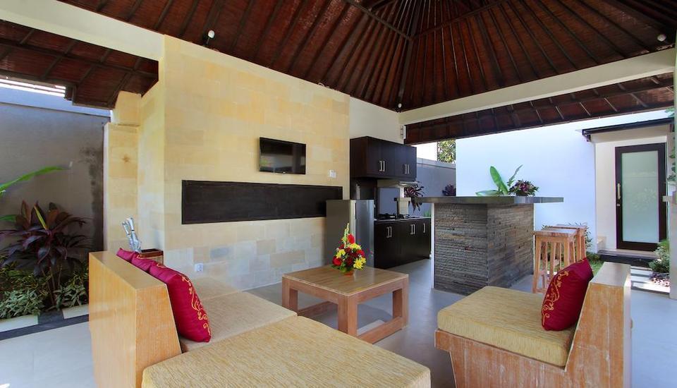 Agata Villas Bali - Ruang tamu
