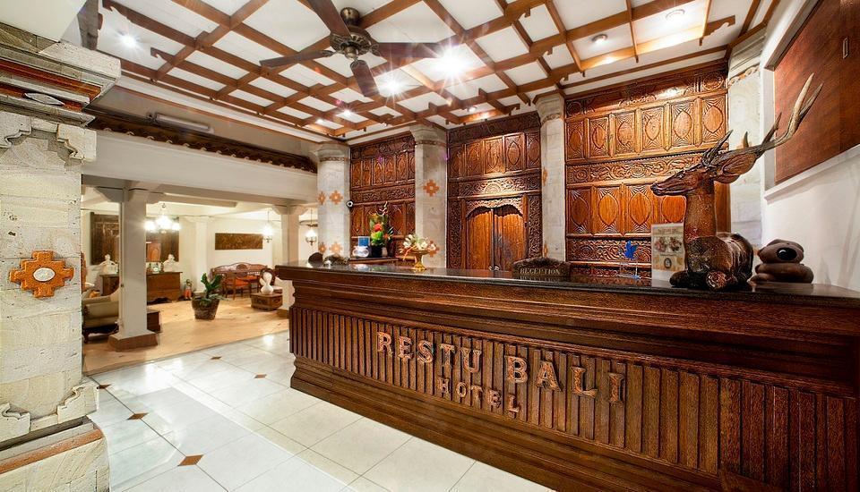 Restu Bali Hotel Bali - Front Desk Counter