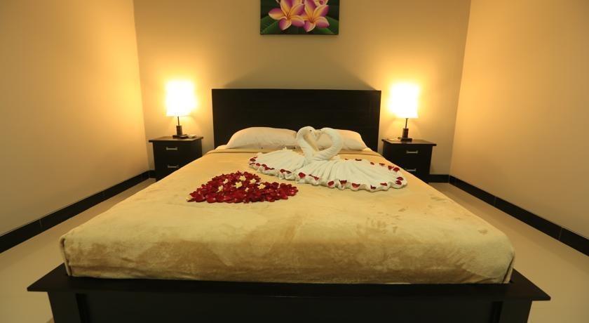Bali Mega Hotel Bali - kamar tidur double setup bulan madu