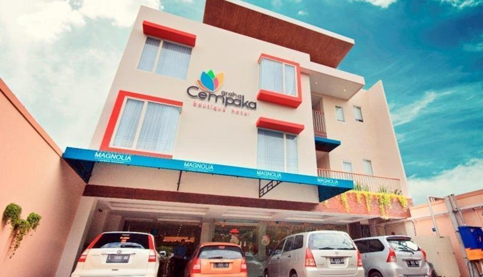 Hotel Graha Cempaka Surabaya - Tampilan Luar Hotel