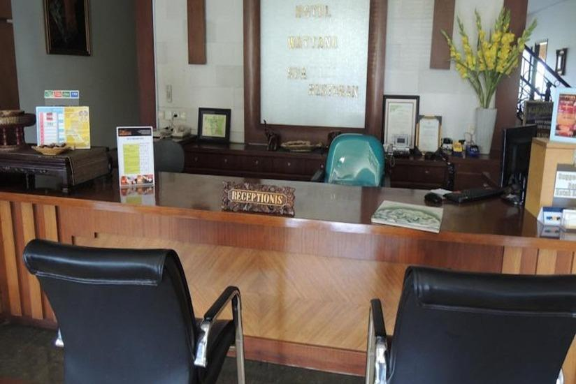 Green Wattana Hotel Sentul - Resepsionis