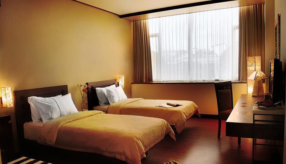 Banana Inn Hotel Bandung -  Delxue Twin
