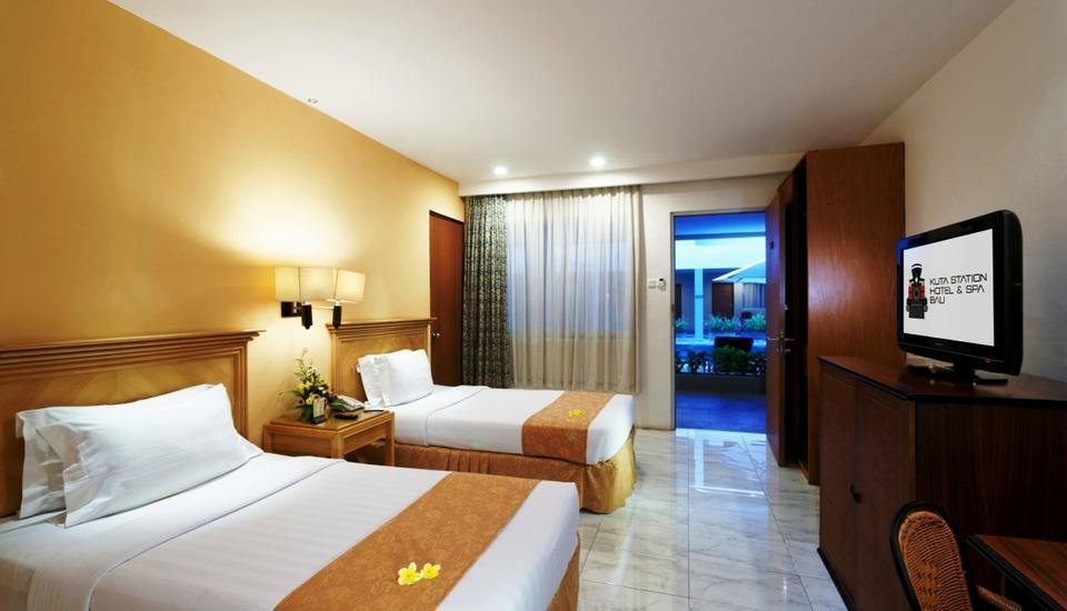 Kuta Station Hotel & Spa Bali - Twin Bed