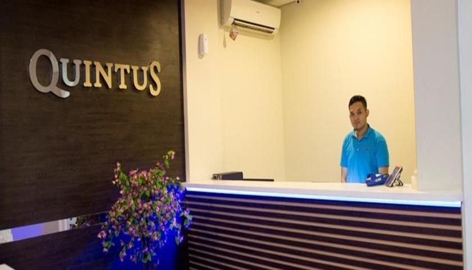Hotel Quintus Jakarta - Resepsionis