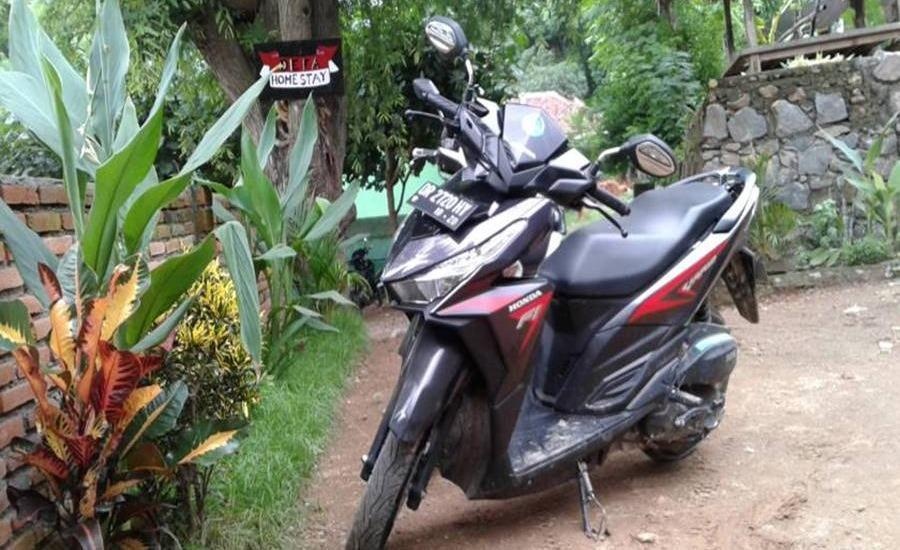 Defa Homestay Lombok - Area parkir
