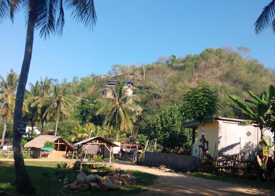 Defa Homestay Lombok - view