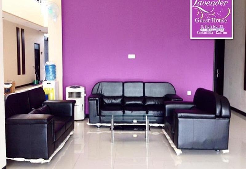 Lavender Guest House Samarinda - Lobi