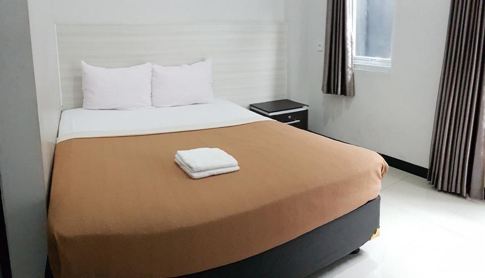 Lavender Guest House Samarinda - Kamar Queen ,Single Bed untuk berdua