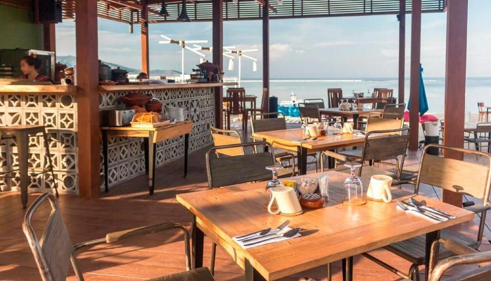 Mola2 Resort Gili Air Lombok - Restoran