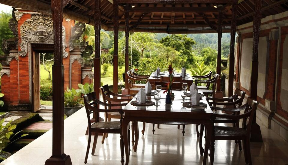 Puri Bagus Manggis Hotel Bali - Dining Area