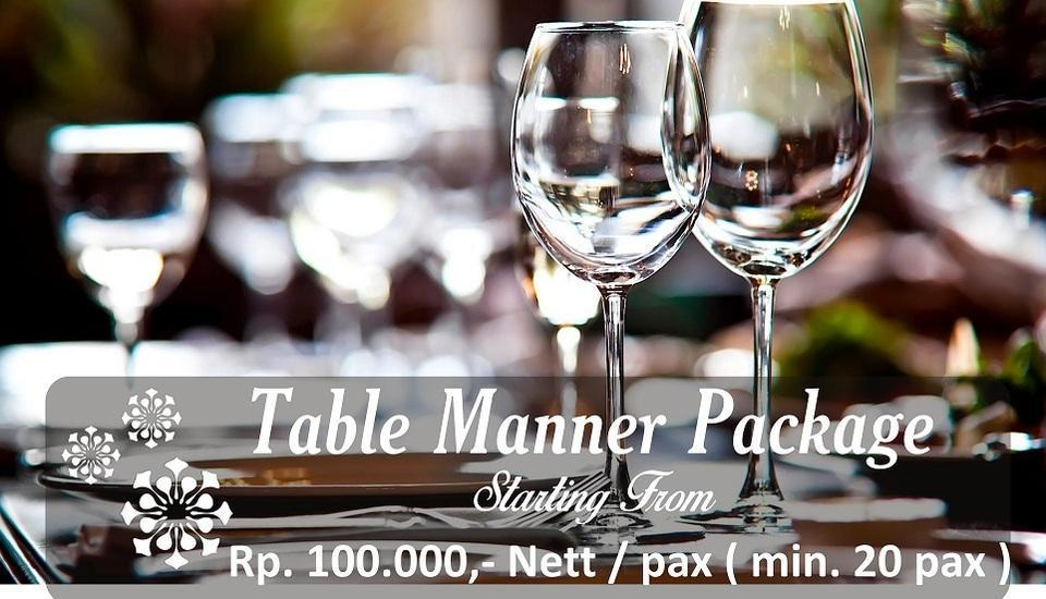 Hotel Namira Syariah Pekalongan - Paket Table Manner