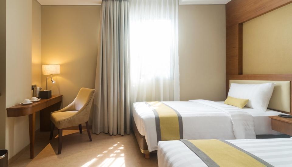 Sotis Residence Pejompongan Jakarta - Deluxe Twin Room Only Regular Plan