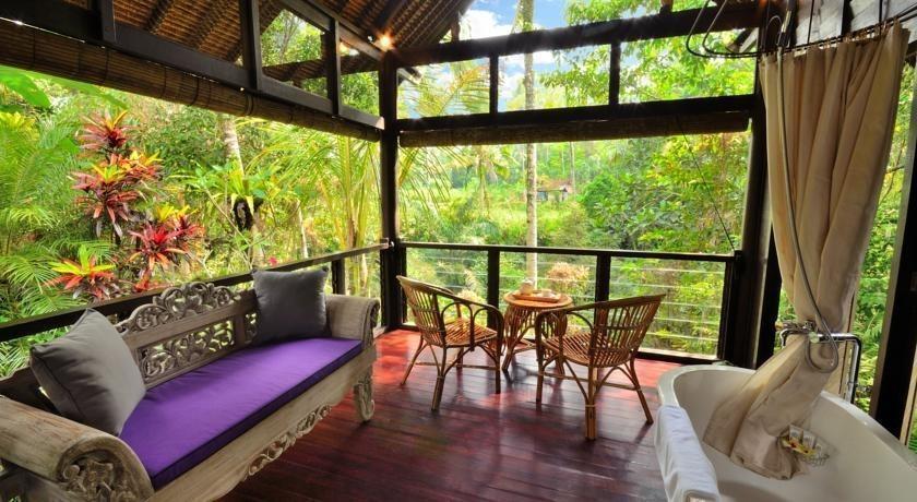 Jendela di Bali Villa Bali - Ruang tamu