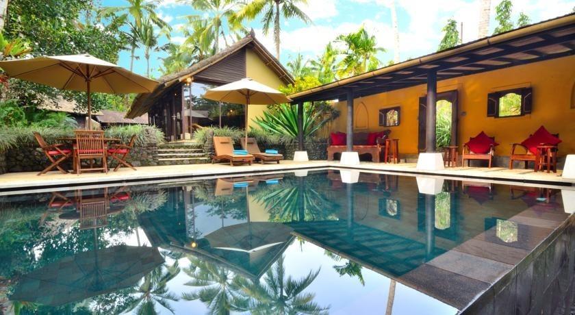 Jendela di Bali Villa Bali - Kolam Renang
