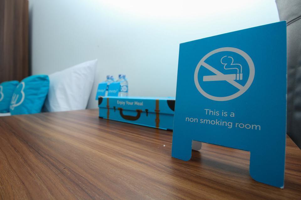 Airy STP Nusa Dua Palapa Satu 8 Benoa Bali - No Smoking Sign