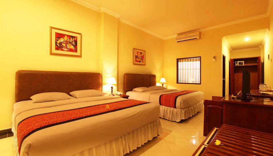 Maxi Hotel And Spa Bali - Family Suite 4 Room Only  Regular Plan