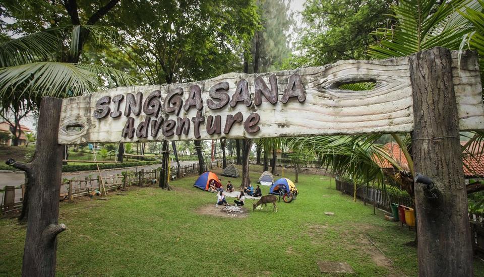 Singgasana Hotel Surabaya - Camping
