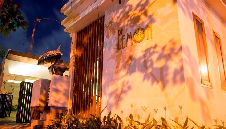De Lemon Gatsu Hotel Bali - Tampak Depan