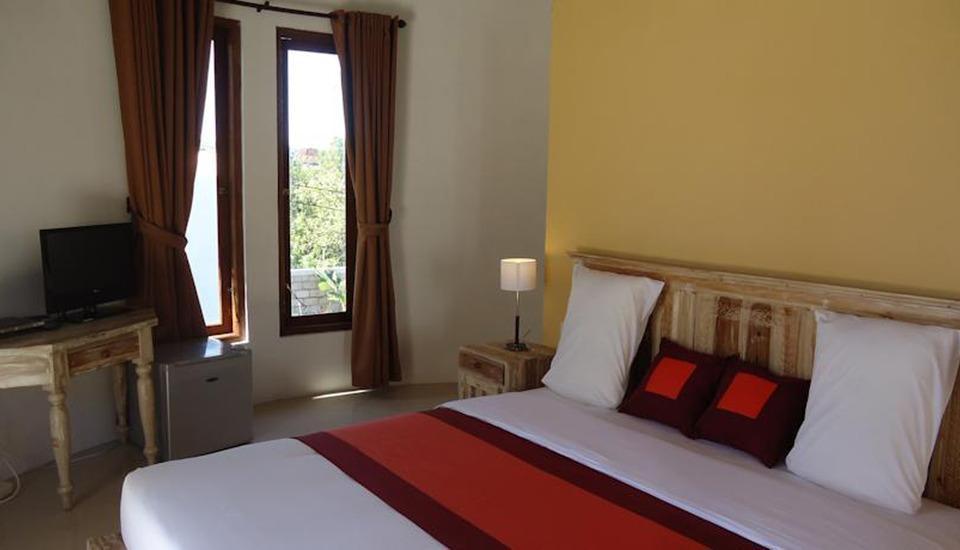 ZEN Premium Pecatu Tanjung Simah Bali - Tampak Tempat Tidur Double