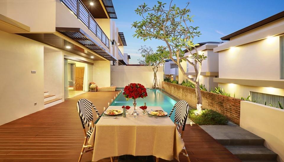 The Miracle Villas Nusa Dua Bali - Facade