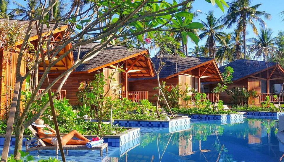 Gili Air Lagoon Resort Lombok - Swimming Pool