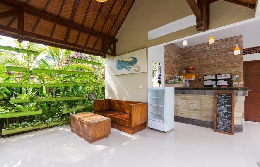 Bije Sari Suite Bisma Bali - Ruang tamu