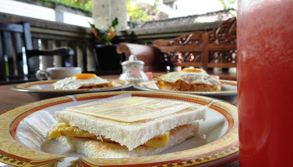 Villa Happy Jimbaran Bali - Menu Sarapan