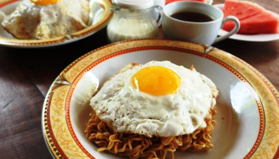 Villa Happy Jimbaran Bali - Breakfast Menu