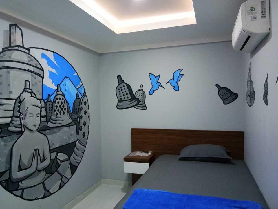Wensroom Seturan Student Castle Apartment Yogyakarta - Backpack Room