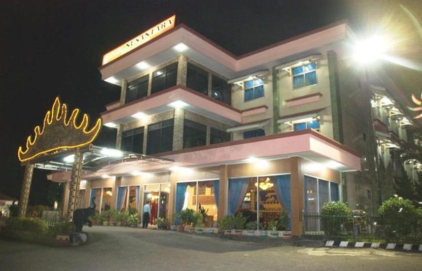 Hotel Nusantara Syariah Lampung - Exterior