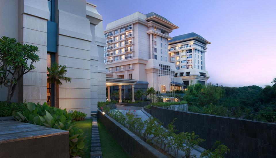 Hotel Tentrem Yogyakarta - Hotel Tampak Belakang