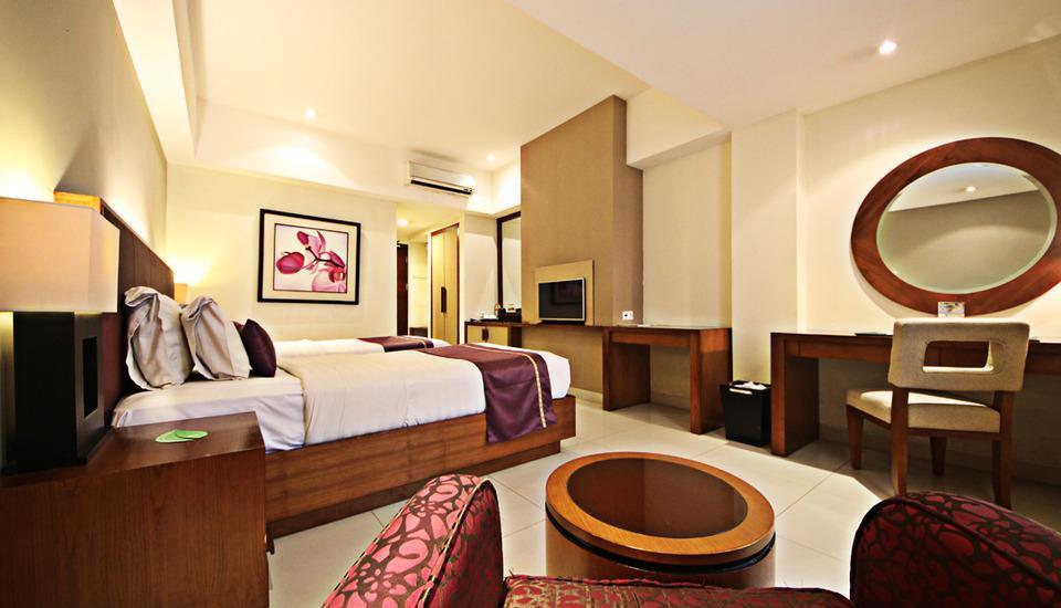 Anggrek Shopping Hotel Bandung - Superior Twin Room