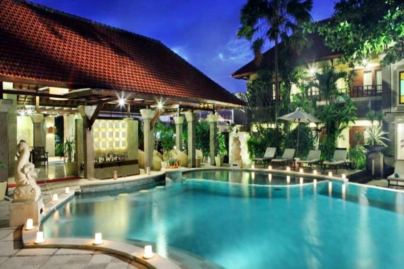 Adhi Jaya Hotel Bali - Kolam Renang