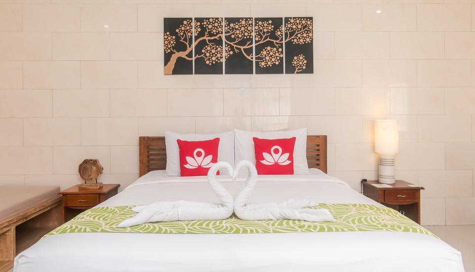 ZenRooms Legian Nakula Srikandi - Tampak tempat tidur double