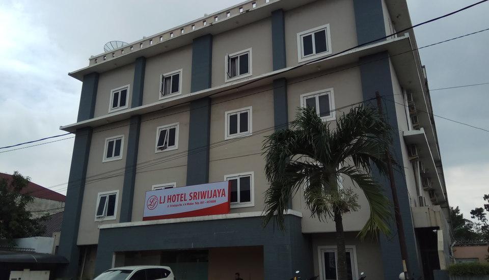 LJ Hotel Sriwijaya Medan - Hotel Tampak Depan