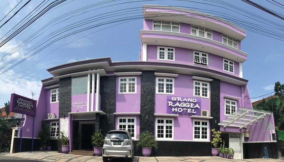 Grand Raggea Hotel Malang - Tampak Luar