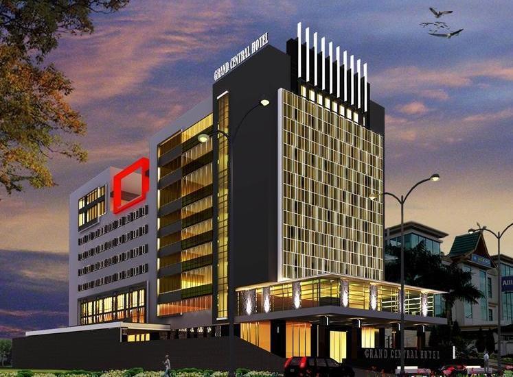 Grand Central Hotel Pekanbaru - Tampilan Luar