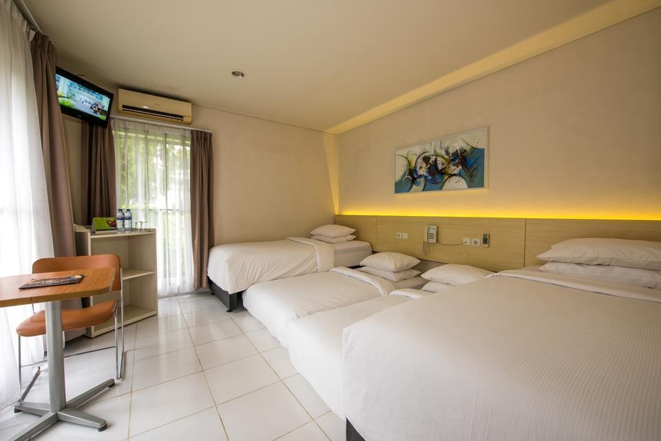 D Agape Residence Bogor - Superior Room Quadruple Regular Plan