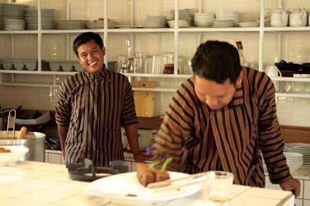Rumah Turi Solo - Pelayanan di rumah Turi dalam menyajikan menu kuliner