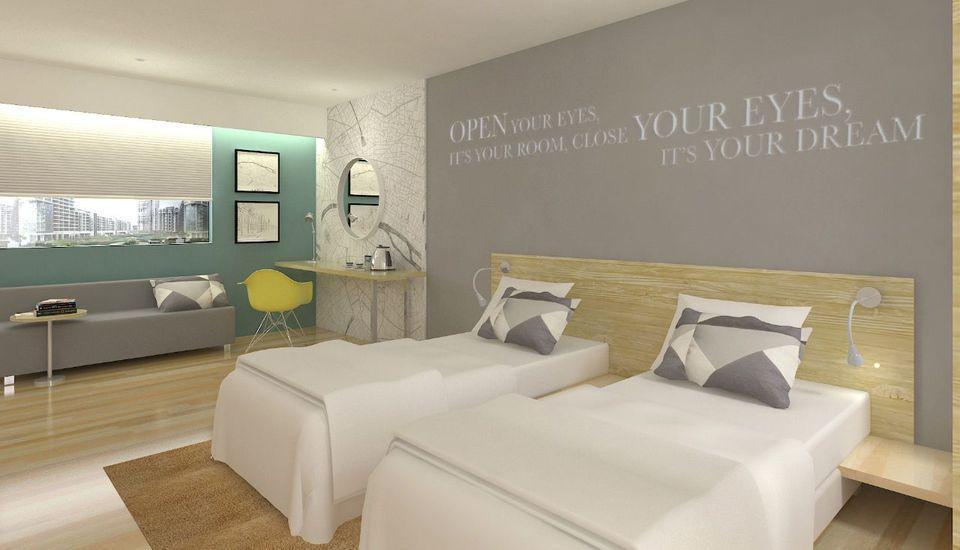 Kyriad Hotel Fatmawati Jakarta Jakarta - Deluxe/Grand Deluxe Room Twin Bed